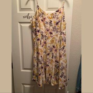 CAMI DRESS FLORAL XL